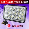 DOT Mark Super Quality CE ROHS Certified 45W Square Led Work Light Led Driving Light 45w