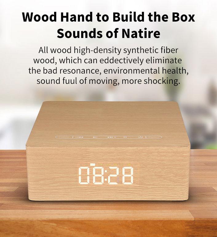 Stereo Display bluetooth Speaker 8