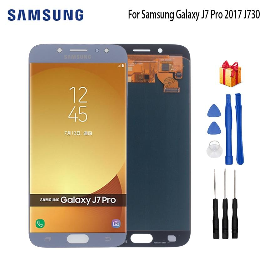 AMOLED For SAMSUNG Galaxy J7 Pro J730 SM-J730F Display LCD Screen For Samsung J7 2017 J730FM J730G J730GM Screen LCD DisplayAMOLED For SAMSUNG Galaxy J7 Pro J730 SM-J730F Display LCD Screen For Samsung J7 2017 J730FM J730G J730GM Screen LCD Display