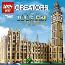 New LEPIN 17005 4163Pcs City Creator Big Ben Model Building Kit Minifigure Blocks Bricks Compatible Children Toy Gift 10253