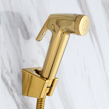 MAIDEER Роскошная золотая Форсунка ABS ручной разбрызгиватель для туалета, биде shattaf спрей Заводская распродажа Золотой туалет душевая головка струйный набор