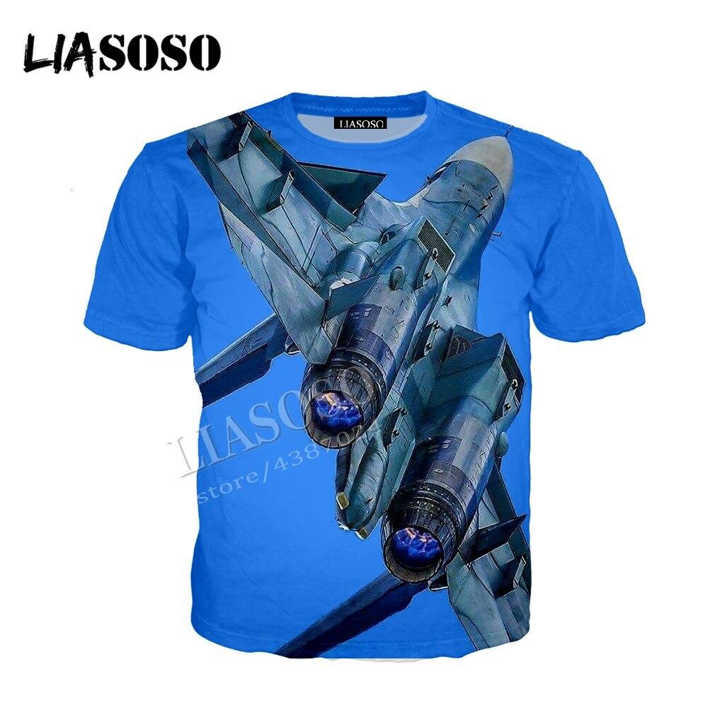 LIASOSO latest 3D printing comfort polyester sportswear military equipment air force fighter zipper hooded shirt men women CX608