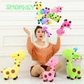 18 cm Cute Plush Giraffe Toys soft  Animal Dear Doll Kawaii Spot Toy for Baby Kids children boys girls Gift stroller accessories