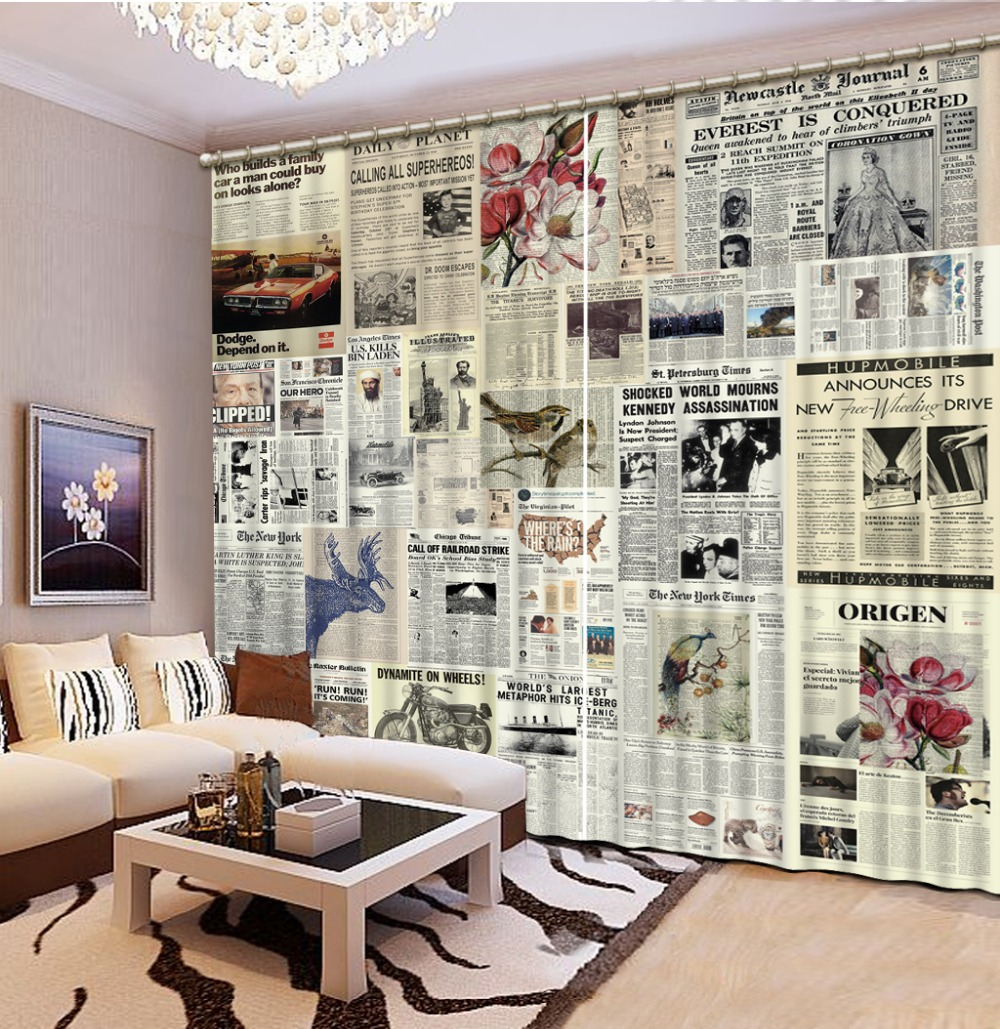 Curtains for living room Ruturn Curtains for bedroom Home Decoration 3d curtains in Curtains from Home Garden