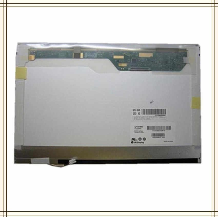 """14.1 """"écran lcd d'ordinateur portable pour DELL LATITUDE D630C D631 PP18L D531 D620 D630 CCFL 1280x800 matrice d'affichage LP141WX1 LP141WX3"""