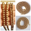 18inch 36inch 316L Stainless Steel High Quality Ball Chain Necklace Gold For Men Boy Christmas Gift