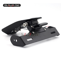 For DUCATI Panigale 899 1199 1299 Motorcycle Tail Tidy Fender Eliminator Registration License Plate Holder LED Light