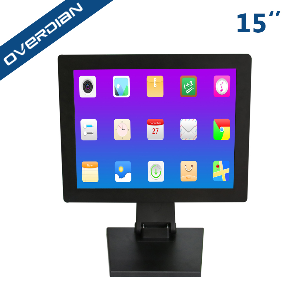 15 LCD Screen 4:3 Industrial Computer Android System Built in WiFi Resistance Touch Screen Industrial Computer Tablet PC