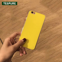 YESPURE Wholesale Acrylic TPU Cheap Mobile Phone Accessories For IPhone 7plus White Soft Cell Phone Cases