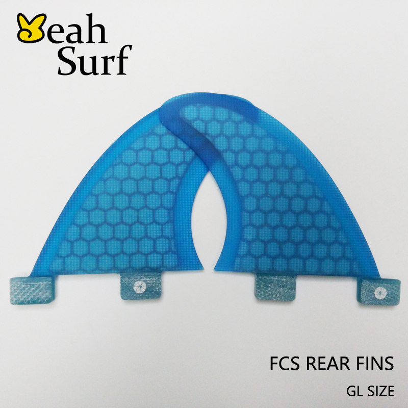 SUP FCS дъска за сърф Fin GL Honeycomb фибростъкло Surf Fin Quilhas Surf FCS задни плавници