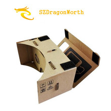 Virtual Reality Google Cardboard 3D VR Glasses Goggles  DK2 for iPhone 6 Plus 4.7 ~ 5.5 inch Android & iOS Smartphone