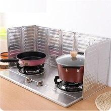 Плита для удаления масла с перегородкой для приготовления пищи, изоляционная защита от брызг, газовая плита, плита с защитой от ожогов, кухонный инструмент B