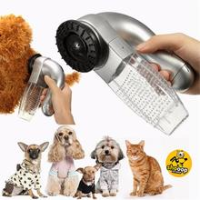 Pet Hair Trimmer Cat Dog Fur Remover Shedding Grooming Brush Comb Vacuum Cleaner Cutters G