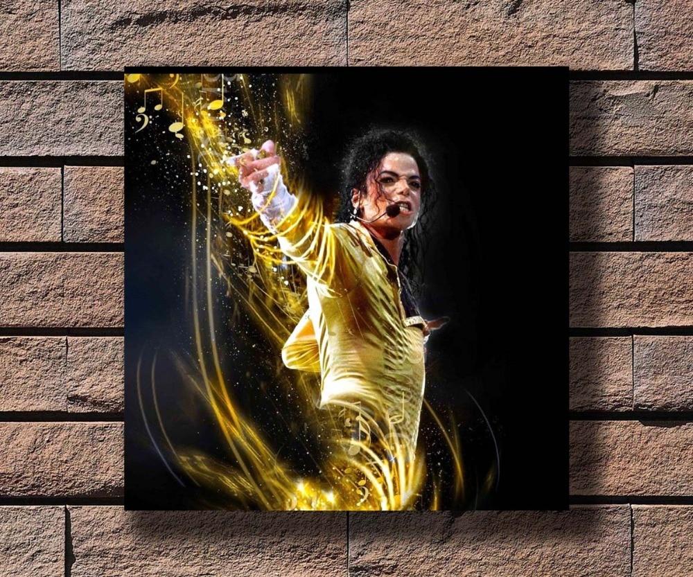 Michael Jackson king Art Silk Poster 12x18 24x36