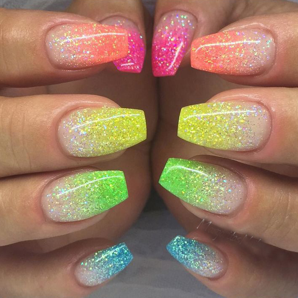 Nail Art: 1g 6 Color DIY Beauty Glitter Phosphor 3d Glow Nail Art