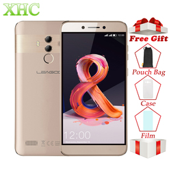 LEAGOO T8s Mobile Phone RAM 4GB ROM 32GB 5.5inch FHD Android 8.1 MT6750T Octa Core Face ID 13MP OTG GPS Dual SIM 4G Smartphones
