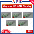 Factory Wholesale free shipping 5PCS Magicar 5 LCD Remote display for SCHER-KHAN M5 LCD remote start 2-way car alarm system
