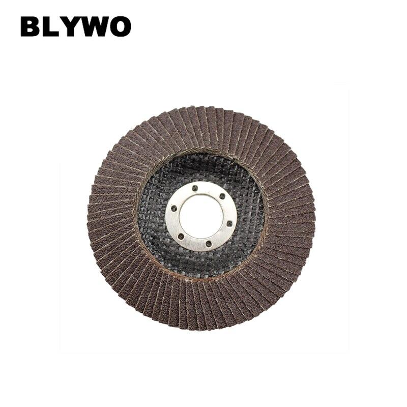 1pc Abrasive 115mm Metal Sanding Flap Discs 22mm Arbor Angle Grinder Wheels For Metalworking