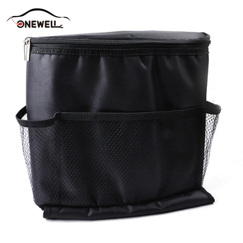 ONEWELL Home Food Beverage Storage Organization nsulated Container Basket Picnic Lunch Dinner Bag