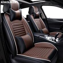 [Kokololee] сиденья для Гольф 4 5 6 VOLKSWAGEN polo СЕДАН 6r 9n passat b5 b6 b7 аксессуары Чехлы для сидения автомобиля