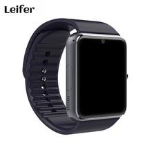 Leifer New Hot Montre Smart Watch GT08 Soutien Sim Carte Bluetooth Connectivité pour Apple Iphone Android Téléphone Smartwatch