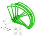 Set of 4 Propeller Prop Protective Guard Bumper Protector for DJI Phantom 2 Vision RC Helicopter