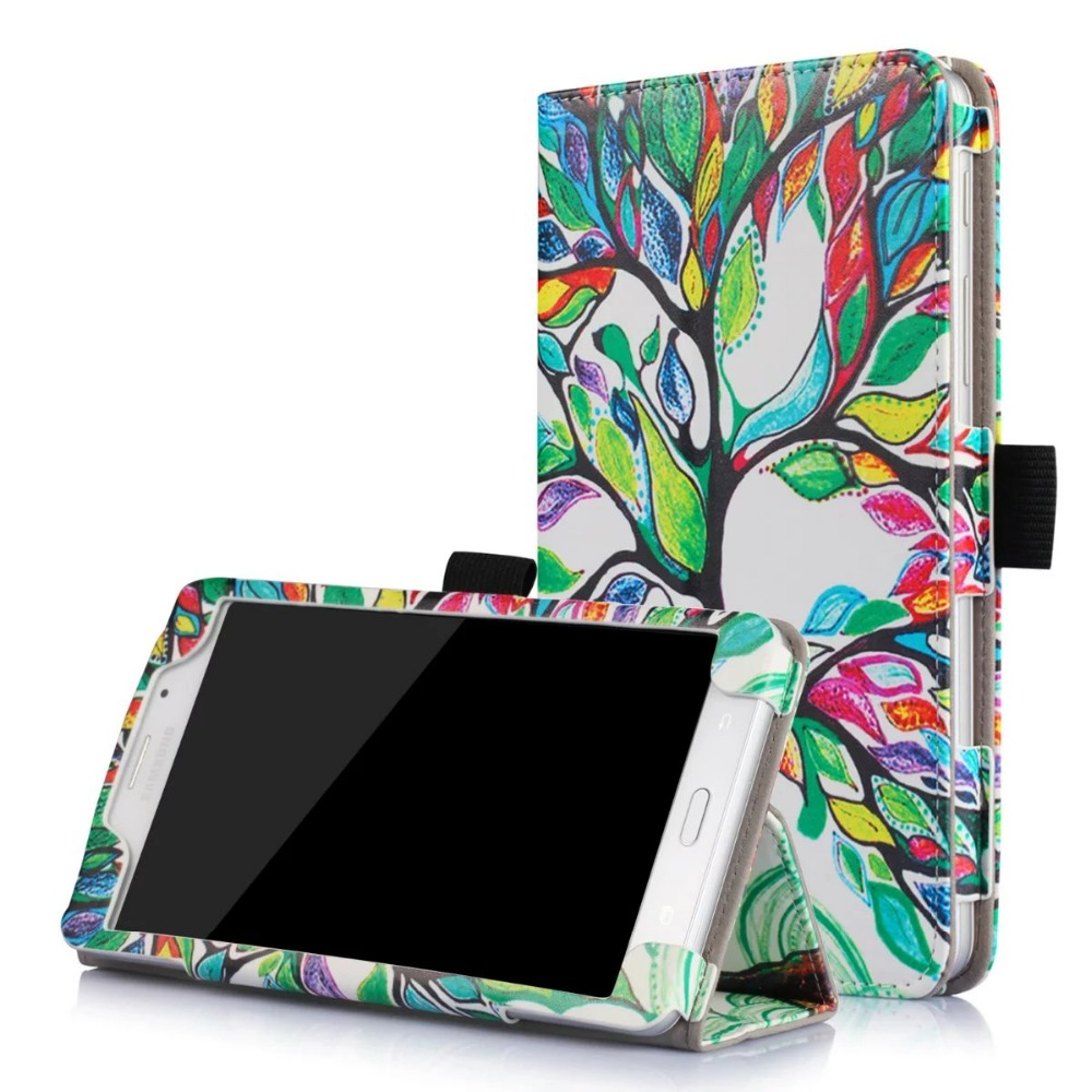 High Quality Print Stand PU Leather Case Business Book Protective Cover For Samsung Galaxy Tab J Max 7.0 T285 T285YD T280 Tablet ac110v 160db motor driven air raid siren metal horn industry boat alarm