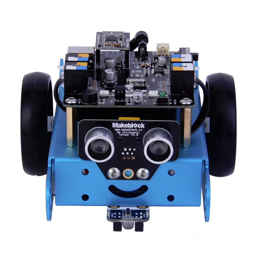 Hot! mbot Programmable Educational Robot Intelligent Remote Control DIY Puzzle Toy New Sale diy assembly puzzle metal intelligent control robot children educational toys
