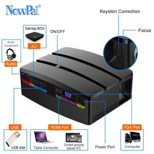 Image 5 - Mini Proyector de cine en casa para Proyector Android Proyector wi fi 3D HD LED Proyector con HDMI USB VGA AV puerto de Video TV