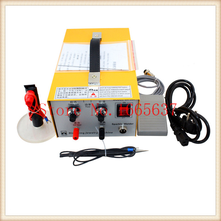Free ship new Pulse Sparkle Spot Welder 200W Jewelry Welding Machine Necklace Gold SilverFree ship new Pulse Sparkle Spot Welder 200W Jewelry Welding Machine Necklace Gold Silver
