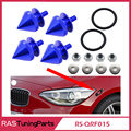New Come Aluminum Fender Washer Fasteners Bumper Quick Releases Spiked Shape RS-QRF015