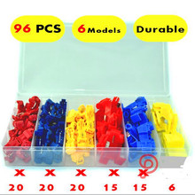 96PCS quick splice scotch lock wire connectors red blue yellow CONNECTOR TERMINAL KIT
