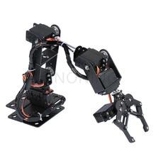 6 DOF робот-манипулятор из металлического сплава механический рычаг зажим коготь комплект MG996R DS3115 для Arduino роботизированное образование