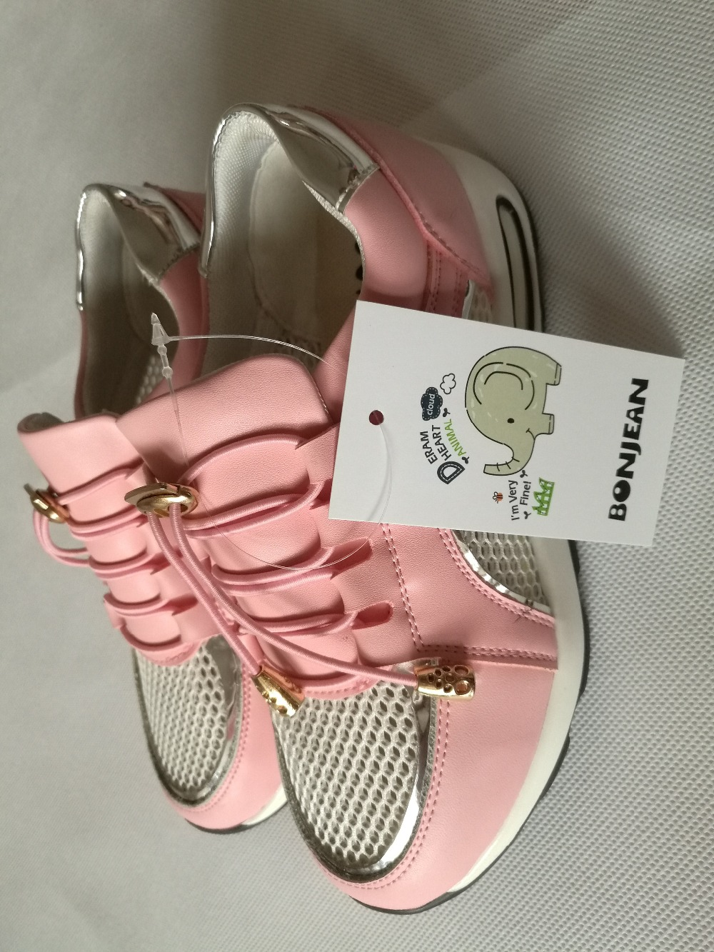 free shipping kids shoes Breathable fashion Gilrs shoe pink color