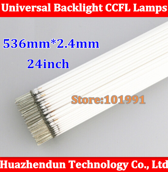 50PCS Free Shipping NEW 536mm for <font><b>24inch</b></font> <font><b>TV</b></font> lamp backlight 24'' sreen LCD CCFL lamp backlight tube image