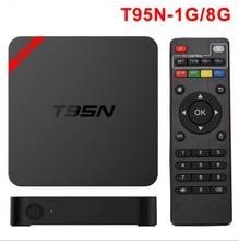 T95N Mini MX plus Android TV Box Quad Core Amlogic S905 UHD 4 K Smart TV Box KODI XBMC Miracast DLNA IPTV Set-top caja