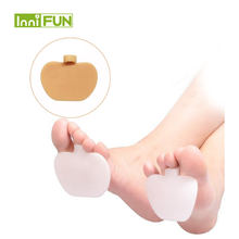 1 Пара толстых медицинских силиконовых подушечек для ног гелевая