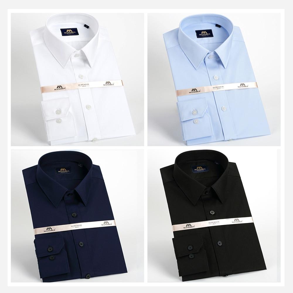 Këmisha për burra 2018 marka me mëngë të gjata kostume biznesi - Veshje për meshkuj - Foto 6