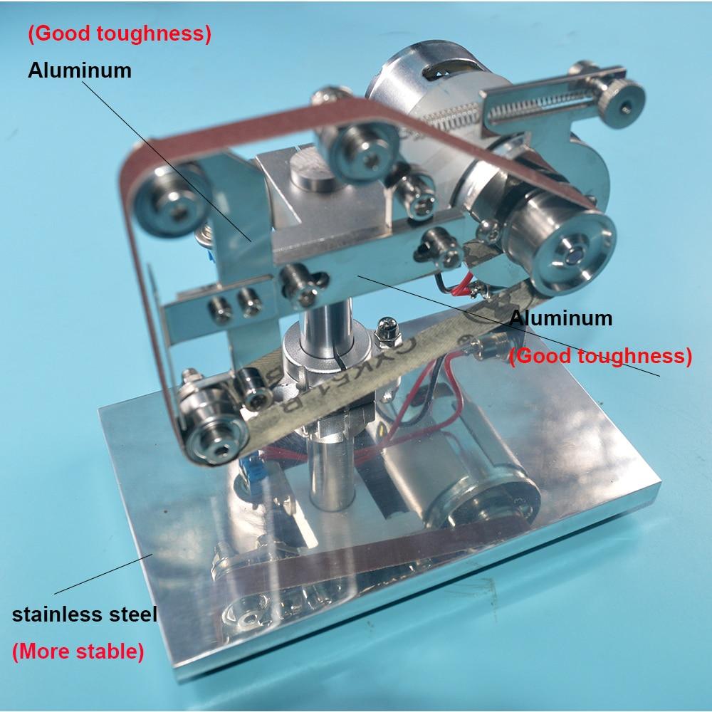 24 В 100 Вт мотор профессиональная электрическая точилка для ножей острый нож и точилка для инструментов, мини настольная база с наградным абр