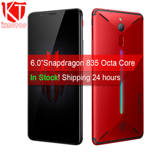 Original ZTE Nubia Red Magic Game Mobile Phone 6″ Octa Core 6/8GB 64/128GB Full Screen Fingerprint Android 8.1 4G LTE Smartphone