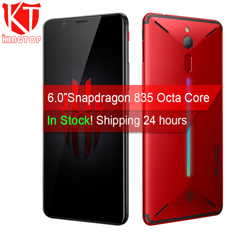 Original ZTE Nubia Red Magic Game Mobile Phone 6 Octa Core 6/8GB 64/128GB Full Screen Fingerprint Android 8.1 4G LTE Smartphone