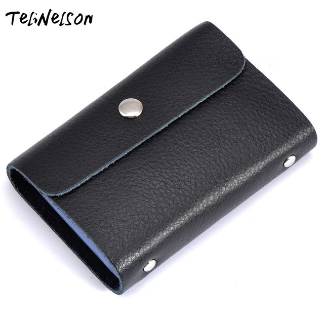 26 cards genuine leather bank credit card holder for gift card wallets id holders wholesale card - Gift Card Holders Wholesale