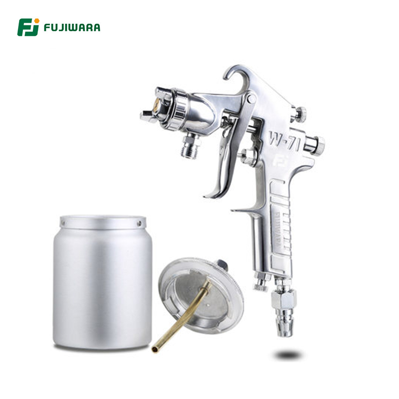 FUJIWARA Pneumatic Spray Paint Gun Varnish Spray Gun Highly Atomized Furniture Wooden Furniture Automobile Spray Gun цена