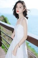 New Women's Slim Thin Harness Floral Lace White Dress Long Maxi Bohemia Beach Vacation Beach Summer Lace Tube Top Bohemian Dres