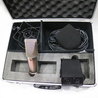 MK49 Large Diaphragm Studio Condenser Cardioid Recording Microphone Mic with Box Shock mounts Phantom Power Cable Foam