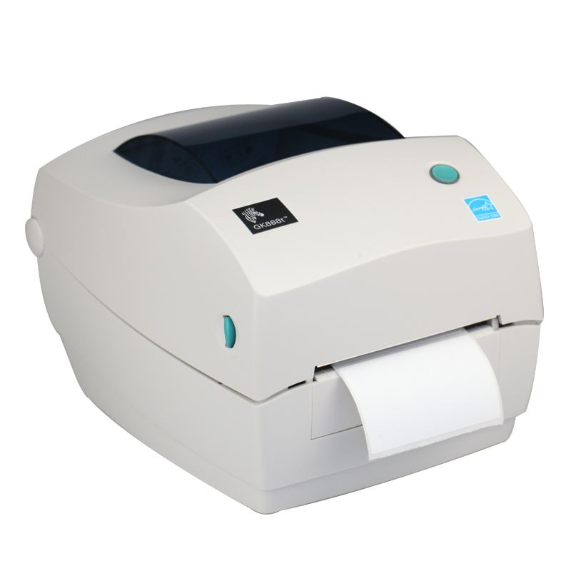 Original Brand Noua ZebraGK888T Transfer termic / Direct Thermal Printer Barcode Printer 203dpi Imprimanta ieftine coduri de bare