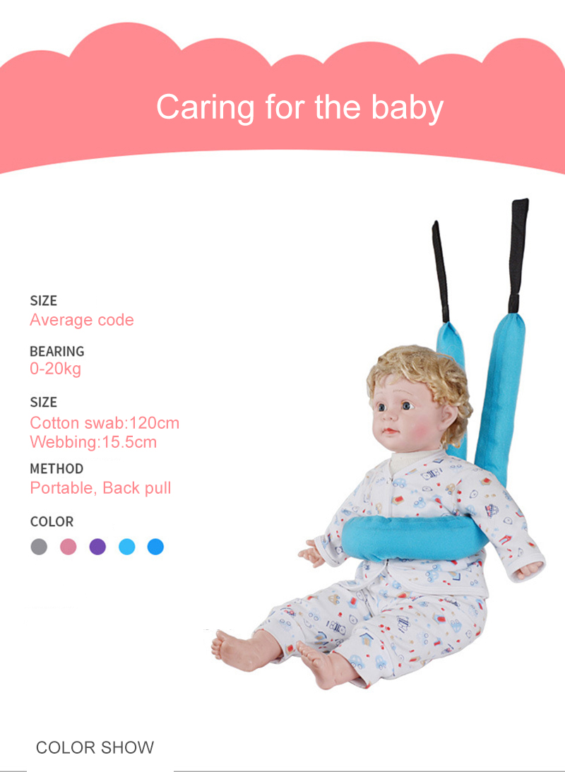 b3089c7f6 Baby Walker Safety Harnesses Leashes Toddler Leash Children Learning ...