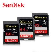 Sandisk 300 MB/s Class10 Hoher Geschwindigkeit 32 GB 64 GB für Kamera Carte SD Extreme Pro SDHC UHS-II Original-speicher karte