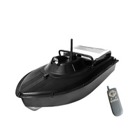 מוצרים חדשים המקורי JABO-2AL-32A משודרג 2.4 GHZ RC סירת פיתיון דיג קרפיון להטיל קו