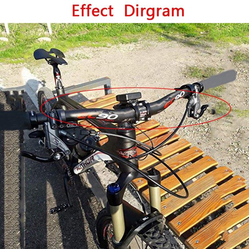 Carbon Handlebar MTB Road Bike flat bar 31.8*580-760mm Brake lever /& grips set